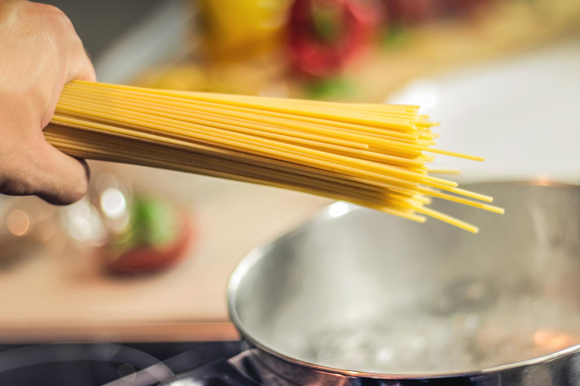 La produzione industriale di pasta in Italia